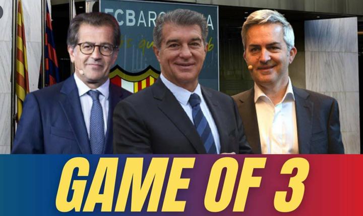 Barcelona proclaim 3 candidates for club presidency