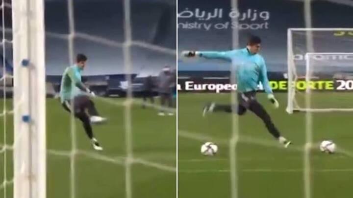 Courtois channels his inner Chilavert: Should he take free kicks for Real Madrid?