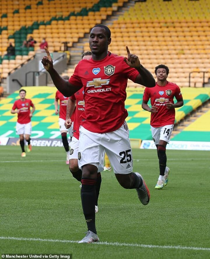 Odion Ighalo admits he wants move to David Beckham's Inter Miami when United loan ends