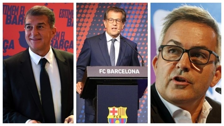 Three candidates remain for Barcelona's presidential elections: Laporta, Font and Freixa