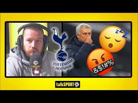 """WHY ARE SPURS SO NEGATIVE!?"" Jamie O'Hara hammers Jose Mourinho for negative Tottenham tactics"