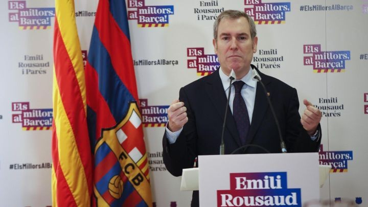Barcelona presidency race down to three after Rousaud withdraws