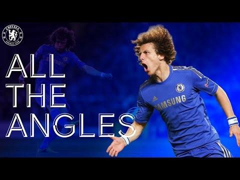 Did David Luiz Score Chelsea's Best Ever Long-Range Goal? | Chelsea v Fulham 12/13 | All The Angles