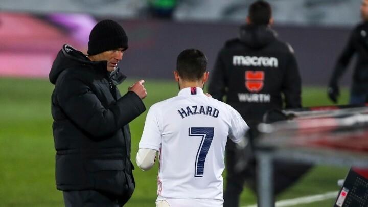 Zidane defends Hazard and still has faith in him