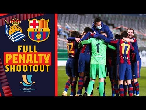 🧤 Relive the FULL PENALTY SHOOTOUT of the Spanish Super Cup 🧤