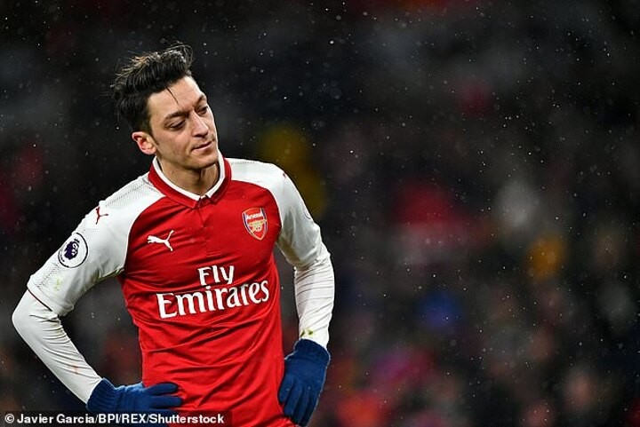 Mesut Ozil's Arsenal career is OVER 'as two parties agree in principle to terminate his contract'