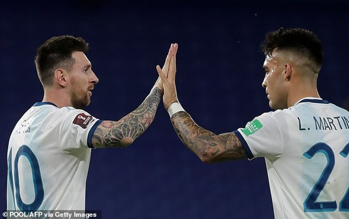 Lautaro Martinez reveals 'it was a big dream' to play alongside Lionel Messi at Inter Milan