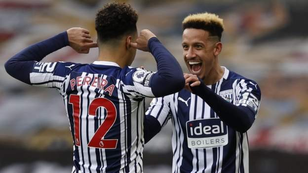 Pereira double earns West Brom derby win