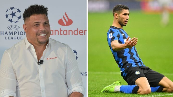 Ronaldo Nazario admits that Real Madrid made a big mistake with Achraf