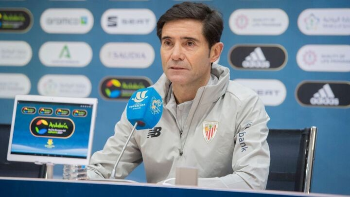 Marcelino: Winning the Supercopa by beating Real Madrid and Barcelona would be quite something