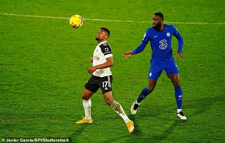 Antonio Rudiger hardly put in a display at Fulham that will leave Kurt Zouma quaking in his boots