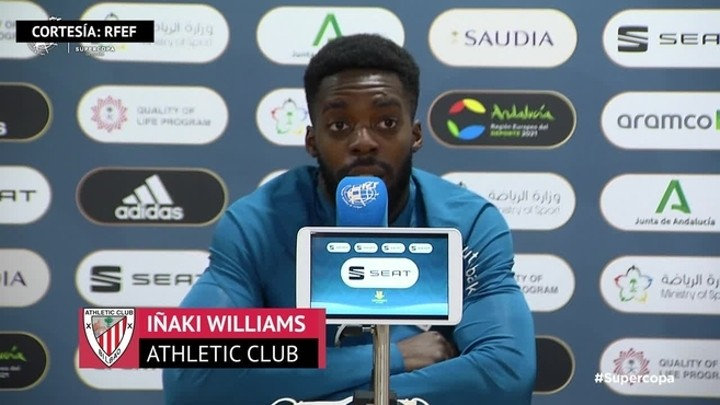 Williams: I don't care if Messi plays in Supercopa final