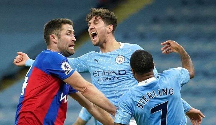 Man City 4-0 Crystal Palace: Stones scores double as Pep's men move to 2nd of PL