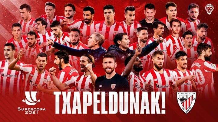 Barcelona 2-3 Athletic Club: Bilbao crowned Spanish Super ...