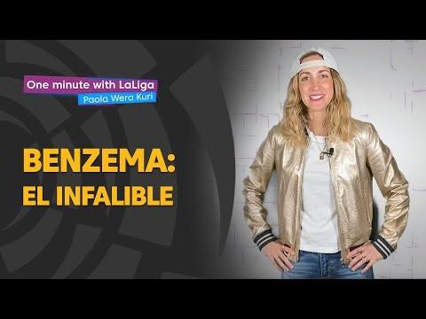 One minute with LaLiga & 'La Wera' Kuri: El infalible Karim Benzema