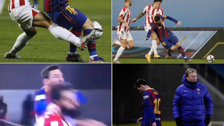"Messi's red card: From ""you can't say anything to him"" to ""he got angry, it was aggression"""