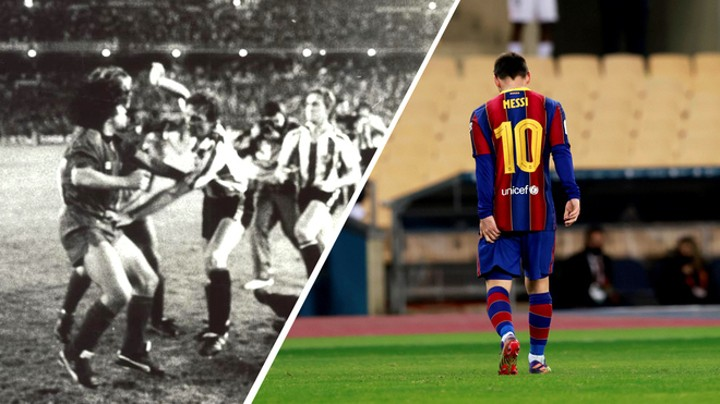 Maradona & Messi: The geniuses who lost their minds in a final against Athletic