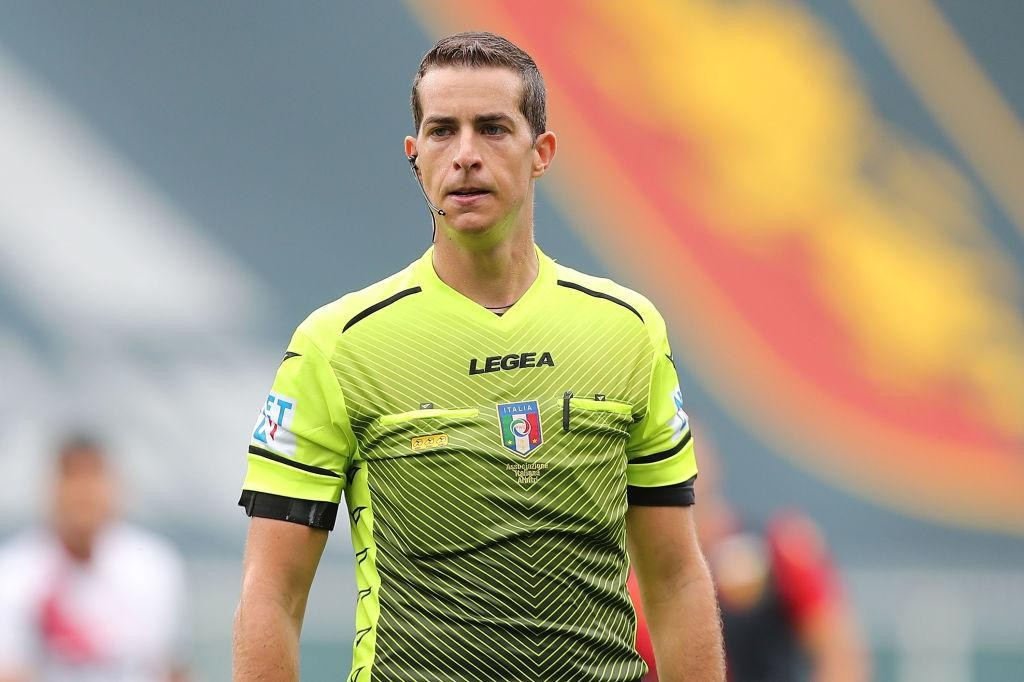 THE REFEREES FOR THE COPPA ITALIA ROUND OF 16