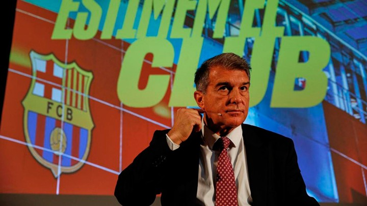 Laporta: Electoral delays are detrimental in trying to keep Messi at Barcelona