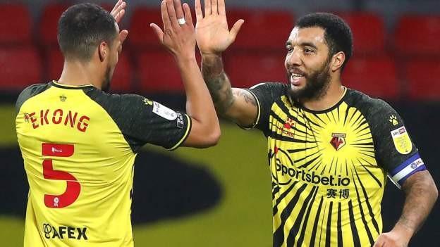 Deeney penalty sees Watford beat Tykes