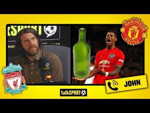 """""""UNITED BOTTLED IT!"""" talkSPORT caller John SMASHES Manchester United's performance against Liverpool"""