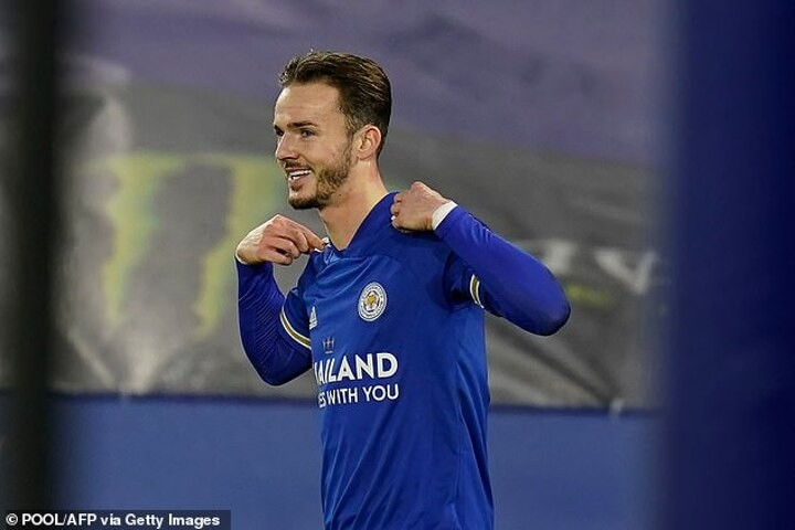 Maddison insists Leicester will continue to do their 'business in the background' of title rivals