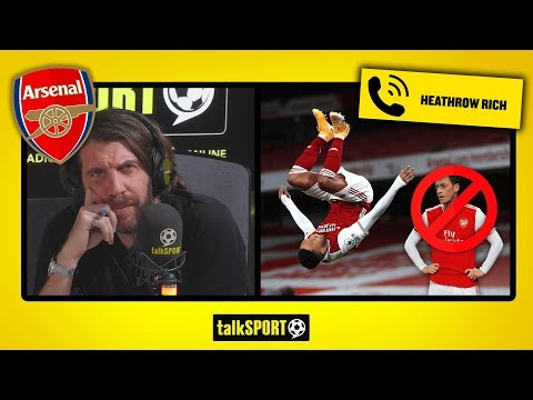 """""""His legacy will not be what HE DID FOR ARSENAL but what HE DID TO ARSENAL!"""" Arsenal fan SLAMS Ozil"""