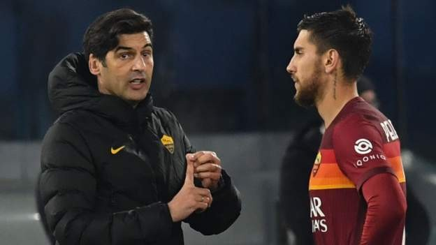 Roma make chaotic cup exit to Spezia