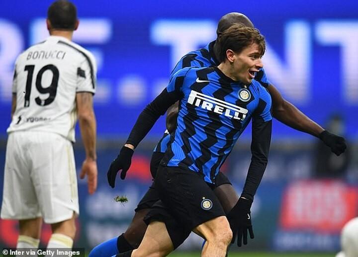 Tottenham and Liverpool keeping tabs on Inter Milan playmaker Nicolo Barella