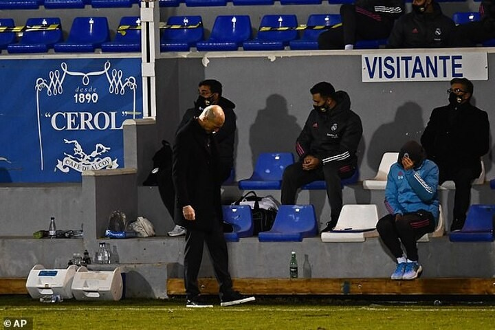 Zinedine Zidane admits the pressure is back on after Real Madrid's shock Copa del Rey knockout
