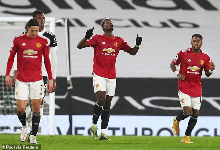 Paul Pogba delighted after his stunner sealed victory for Man United at Fulham
