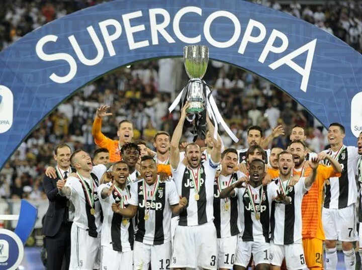 Congratulate all Juventus's fans on The Old Lady winning Supercoppa!