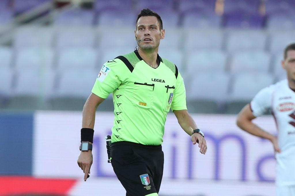 SERIE A TIM, THE REFEREES FOR THE 19TH ROUND
