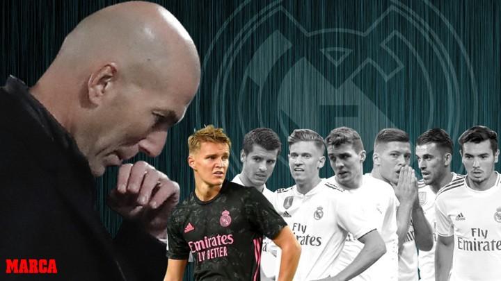 Odegaard is Zidane's ninth victim