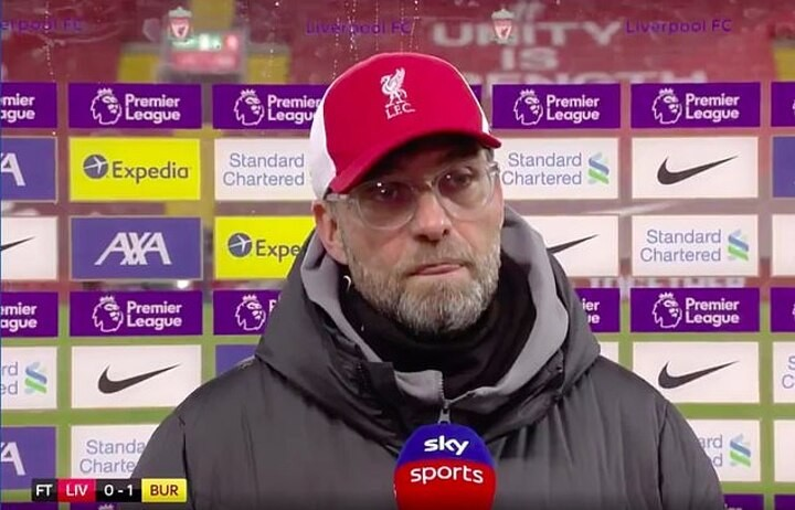 Jurgen Klopp: Burnley game was impossible to lose, but we did