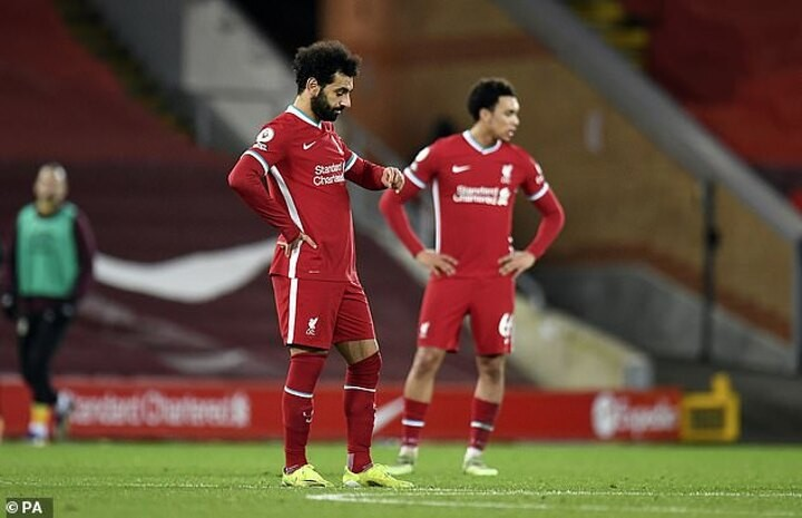 Graeme Souness claims Liverpool haven't dealt well with pressure and are a 'shadow' of themselves