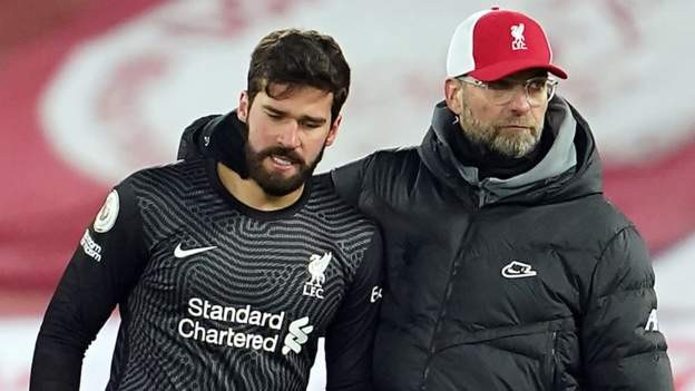 Massive punch in the face - Klopp