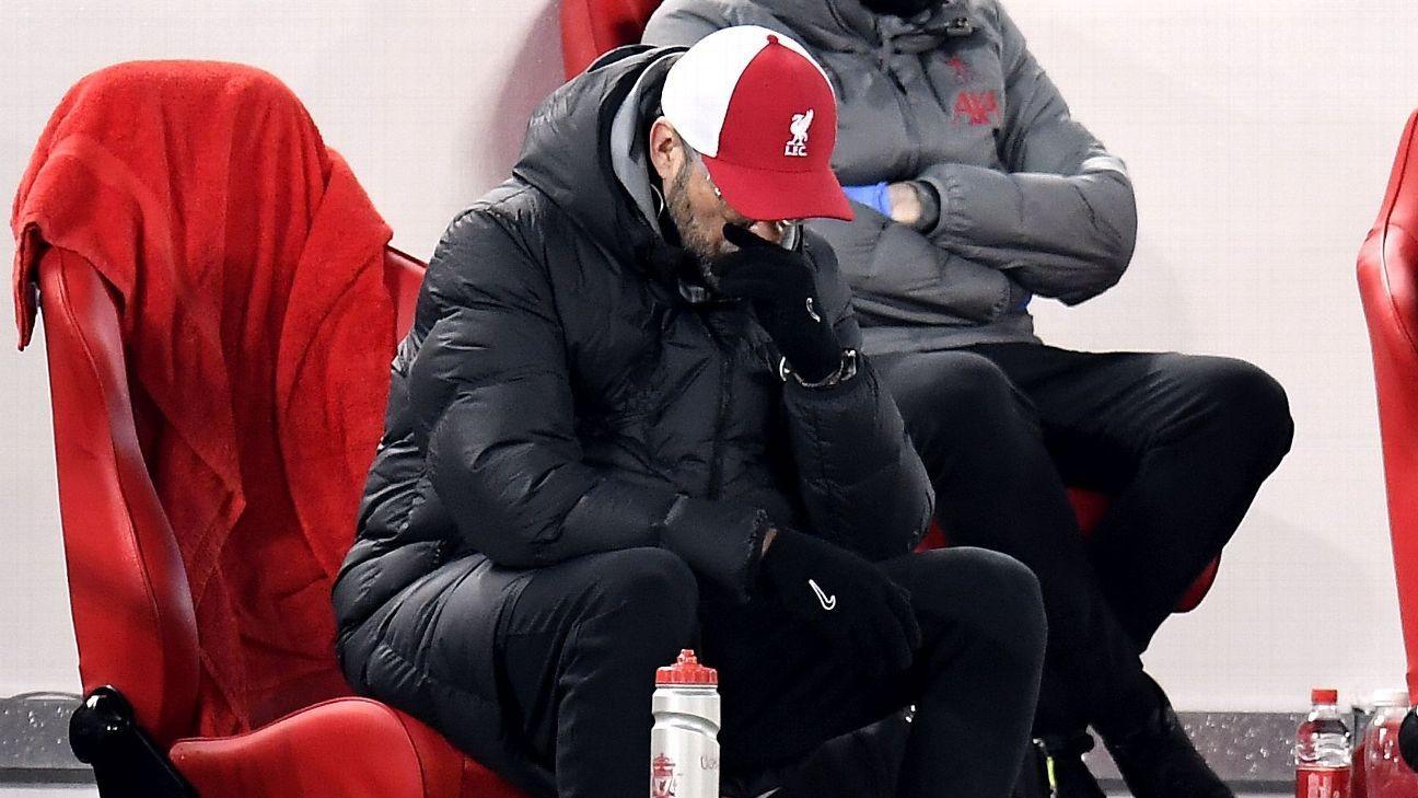 Burnley loss 'massive punch in the face' - Klopp
