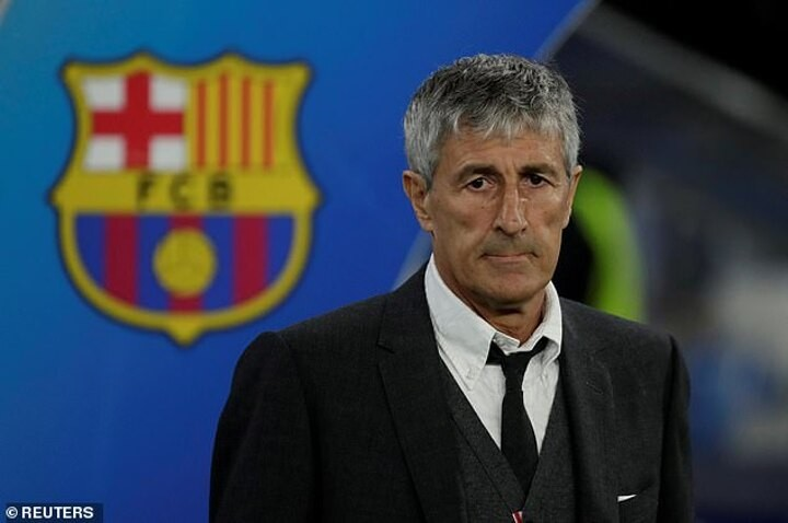 Barcelona 'set for court battle with Quique Setien after REFUSING to pay out £3.5m on his contract'