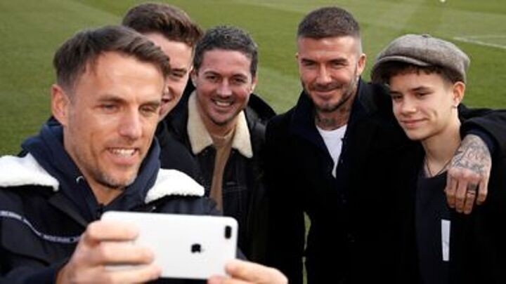 Beckham defends Phil Neville appointment - 'It's not because of friendship'
