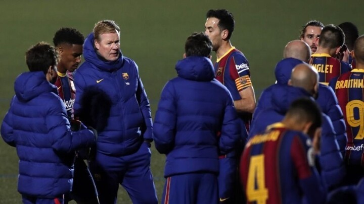 Barcelona fall back into bad habits