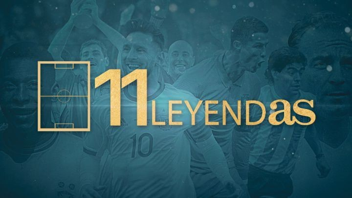 AS chooses its Legends XI: The greatest soccer team ever