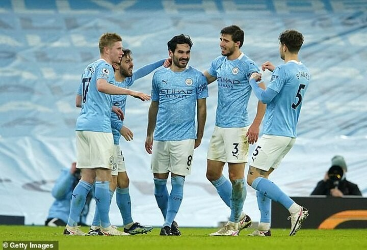 Gundogan is spearheading Man City's push to reclaim the Premier League title