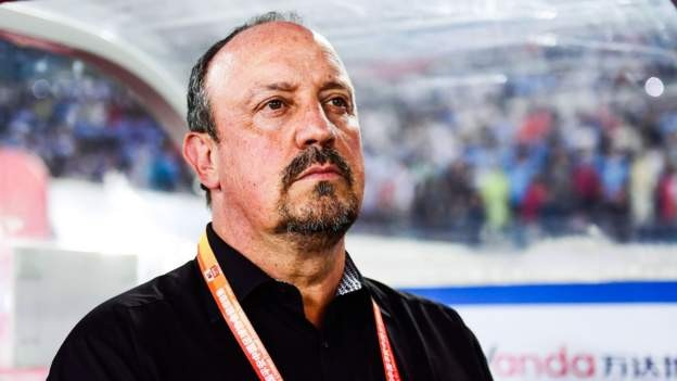 Benitez leaves Chinese side Dalian