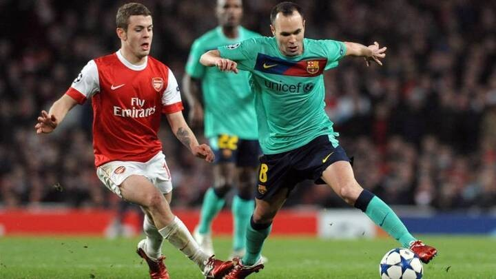 Wilshere snubs Xavi, Iniesta and Busquets and won't be forgiven for it