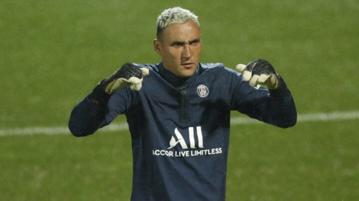 Keylor Navas' injury is a worry for PSG