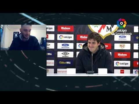 Rueda de prensa Rayo Vallecano vs RCD Mallorca