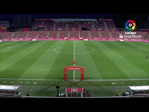 Calentamiento Girona FC vs RCD Espanyol de Barcleona