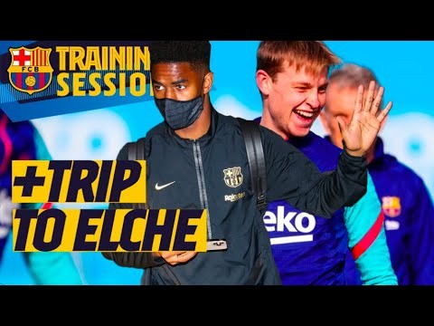 ⚽🛫 A BUSY DAY AT BARÇA...