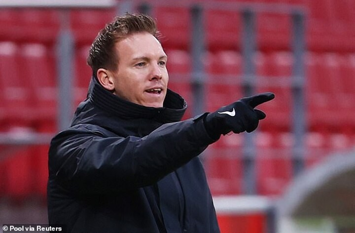 Nagelsmann says he is flattered by Madrid links as pressure ramps up on Zidane